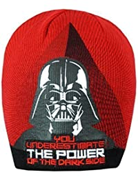 Niño Star Wars Clone Wars Invierno Gorro De Punto Cazador Sombrero De Pico tallas desde 3 a 12 Años