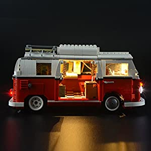 LIGHTAILING Light Set For (Creator Series Volkswagen T1 Camper Van) Building Blocks Model - Led Light kit Compatible With Lego 10220(NOT Included The Model)