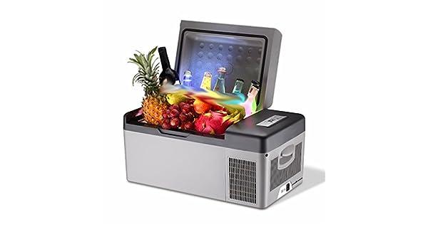 Mini Kühlschrank Mit Thermostat : L auto kühlschrank auto dual use kälte kompressor mini mini