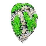 POPETPOP Aquarium Dekor Stein schwimmenden Rock ausgesetzt künstlichen Stein Aquarium Dekor Aquarium Dekoration schwimmende Bimsstein fliegen Rock Ornament - Größe L (ohne Moos)