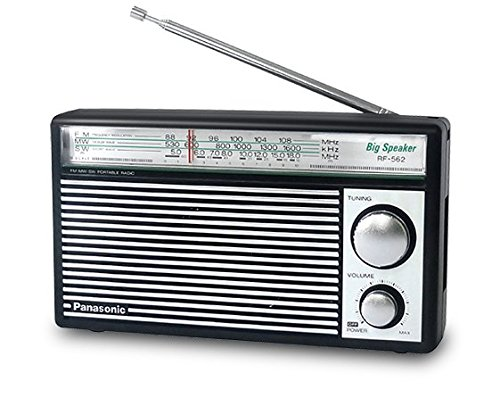 PANASONIC RF-562D AM FM SW Shortwave Transistor Radio - Retro Design (Battery Operated) Rf-transistor