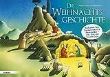 Die Weihnachtsgeschichte: Bildkarten fürs Erzähltheater Kamishibai