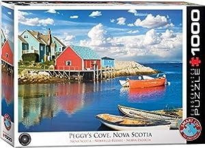 EuroGraphics 6000-5438 - Puzle con diseño de Cove Nova Scotia de Peggy