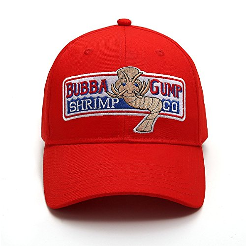 Himozoo Adjustable Bubba Gump Baseball Cap Shrimp Co. Embroidered Snapback Hats