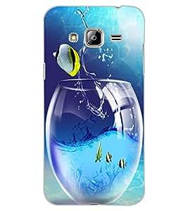 ColourCraft Creative Image Design Back Case Cover for SAMSUNG GALAXY J3 (2016)