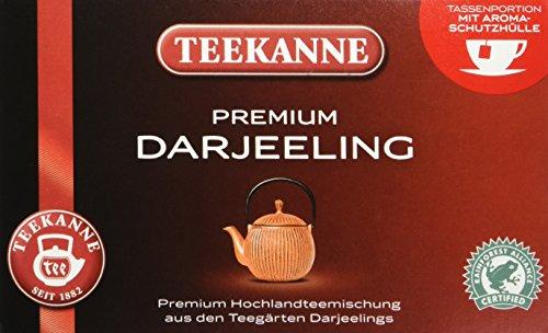 Teekanne Premium Darjeeling 20 Beutel, 5er Pack (5 x 35 g Packung)