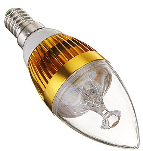 e/Warm White LED Gold Candelabra Chandelier ()