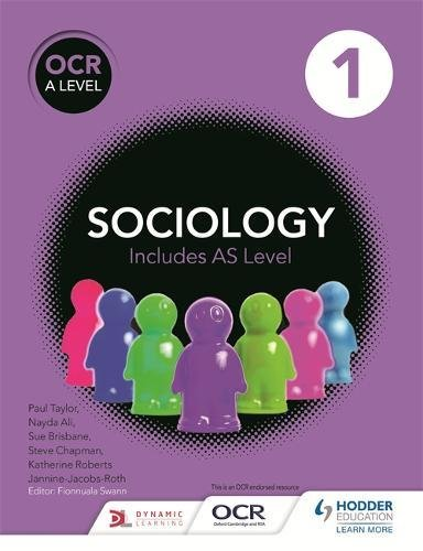 OCR Sociology for A Level Book 1 -