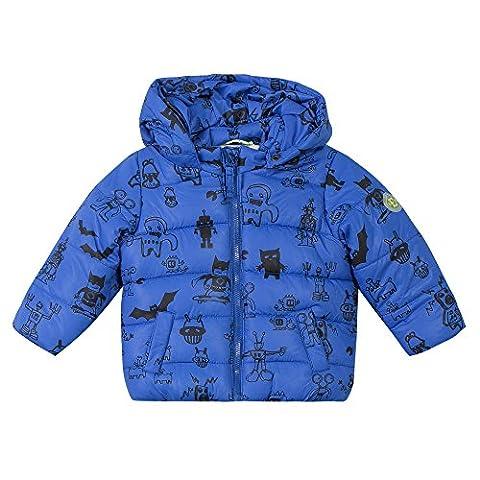 ESPRIT Baby-Jungen Mantel Duffle Coat, Blau (Royalblau 410), One size (Herstellergröße: 92)