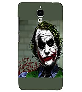 PRINTSHOPPII BATMAN JOKER Back Case Cover for Xiaomi Redmi Mi4::Xiaomi Mi 4