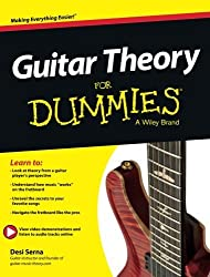 Guitar Theory For Dummies: Book Online Video & Audio Instruction by Desi Serna (2013-10-14)