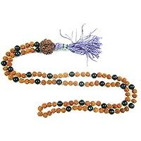 Boho Chic Yoga Necklace Black Onyx Mala to Transform Negative Energies