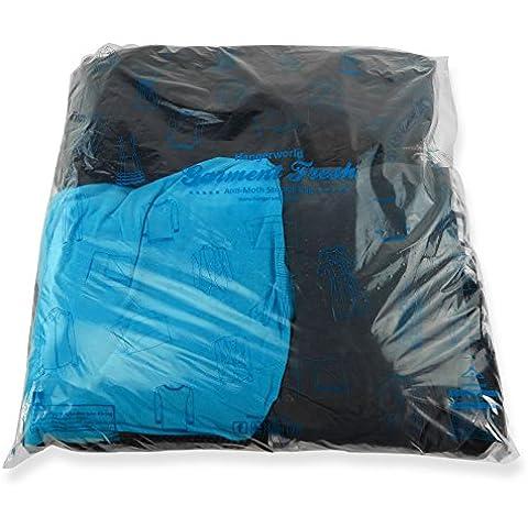 Hangerworld - Bolsas para Guardar (59x61cm)y Proteger Ropa, Plastico. 20 Unidades