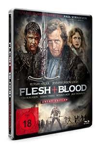 Flesh + Blood - Uncut/Steelbook [Blu-ray]