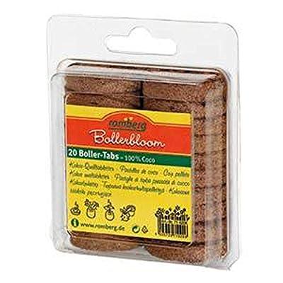 ROMBERG 71020 K Kokosquelltöpfe 20 Stück Inhalt pro Karton von ROMBERG - Du und dein Garten