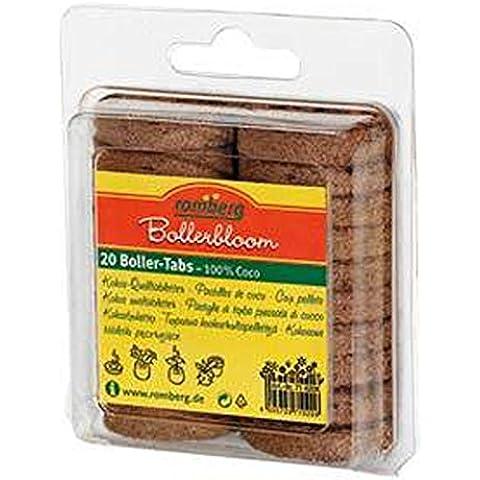Romberg–71020K Coco macetas. 20unidades, contenido por cartón