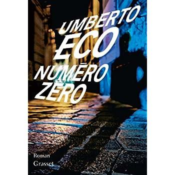 Numéro zéro: roman