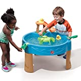 Step2 Duck Pond Water Wheel Play Center Table for Toddler Kids with Rubber