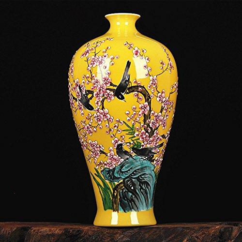 All Décor Chinesische Porzellan Vase Blume Home Office Decor Handgefertigt und Handbemalt Porzellan mit Blumenmuster (61x 73,7cm) Diese Vase ist Maßgeschneiderte Chinesisch 17 -