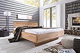 Massivholzbett Trento Doppelbett Bett Massiv Kernbuche NEU OVP alle Größen sofort Lieferbar (200x200)