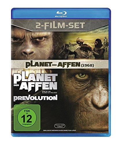 Planet der Affen/Planet der Affen: Prevolution [Blu-ray]