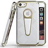 Cocomii Angel Armor iPhone 6S Plus/6 Plus Hülle [Strapazierfähig] Taktisch Griff Ständer Stoßfest Gehäuse [Militärisch Verteidiger] Case Schutzhülle for Apple iPhone 6S Plus/6 Plus (A.Silver)