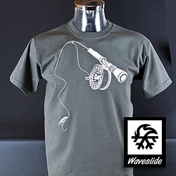 T-Shirt Fliegenfischen Rute Rolle Fliege Fly Casting von Waveslide