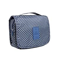 Portable travel hanging toiletry organizer folding cosmetic bag wash bag Nylon make up bag in 6 colors