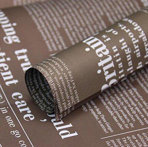 Paper Wrap [Brown] 20PCS exquis cadeau Rétro Matériaux d'emballage