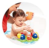TOMY Toomies Octopals  Octopus Number Sorting Suction Squirters Bath Toy  Suitable From 1 year