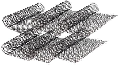 Rosenstein & Söhne Magische Grillmatte: 6x Profi-Silikon Dauer-Back- & Grillmatte 42 x 36 cm, antihaft (Grillnetz)