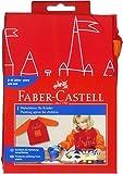 Faber-Castell  Kinder-Malschürze , Rot / Orange, 1 Schürze