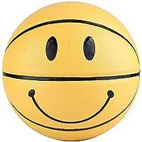 Fafeims 5to Baloncesto de Entrenamiento Smiley Balones de Juego elásticos de Alta Elasticidad para niños al Aire Libre