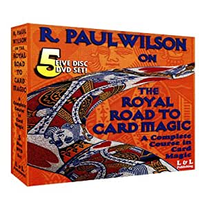 Royal Road To Card Magic by R. Paul Wilson - DVD
