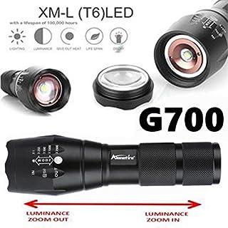 G700 Tactical Taschenlampe LED Military Lumitact Alonefire 5 Modi Dehnbare Taschenlampe mit einstellbarem Fokus Super helle Taschenlampe
