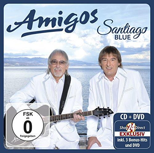Santiago Blue - Exklusive Premium (CD+DVD) inkl. 3 Bonus-Titel + Schal