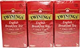 Twinings of London English Breakfast 3 x 25 Teebeutel