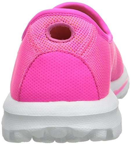 Skechers prestazioni Go camminata estratto Walking Slip-on del pattino Hot Pink/Lime