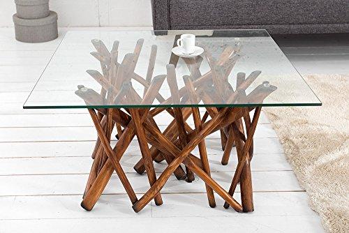 design teakholz couchtisch driftwood natur braun mit. Black Bedroom Furniture Sets. Home Design Ideas