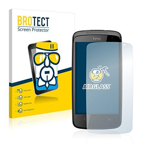 BROTECT Panzerglas Schutzfolie für HTC Desire 500 - Flexibles Airglass, 9H Härte, Anti-Kratzer