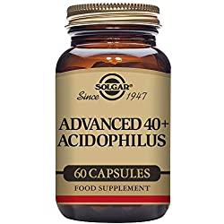Solgar Advanced 40+ Acidophilus 60 Vegetable Capsules
