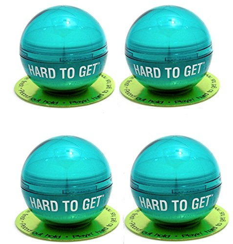 'Hard To Get' Texturizing Hair Paste *Set of 4* by TIGI Bed Head (42g each). Test