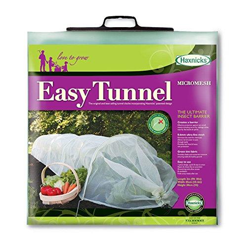 Haxnicks Glasglocke im etun040101Easy Tunnel, weiß, 300x 45x 30cm (Plant Tunnel)