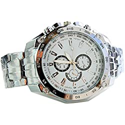 Cool Men Hand Casual Sport Wrist Watch Casual Mens Stainless Steel Quartz Analog
