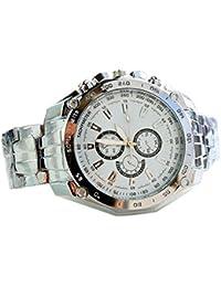 amazon co uk geneva watches cool men hand casual sport wrist watch casual mens stainless steel quartz analog