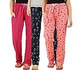 #6: Peach Blossom Womens Nightwear Pyjama Pack of 3