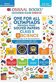 Oswaal Olympiad Previous 10 Years Solved Papers, Class-5 Science Book (For 2021 Exam)