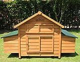 Pets Imperial® - Hühnerstall Marlborough/Savoy - groß - für 6 bis 8 Hühner Je nach Größe - sehr leicht zu reinigen A01 - 2