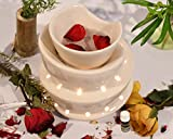 #5: Collectible India Ceramic Electric Aroma Diffuser Essential Oils Burner Scented Aromatherapy Air Purifier With 10 ml Aroma Oil