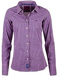 064b17ff8 Rydale Ladies Classic Poppy Gingham Shirt